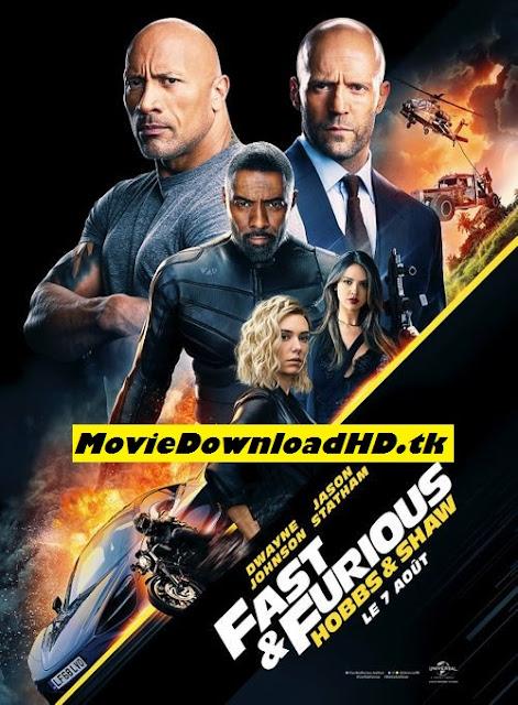 Fast & Furious Presents: Hobbs & Shaw (2019) English Full Movie Download 720p HQ DVDScr - x264 - 1GB www.moviedownloadhd.tk