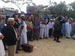 Gelombang Pendemo Aksi bela Islam II dari Sumatera Barat
