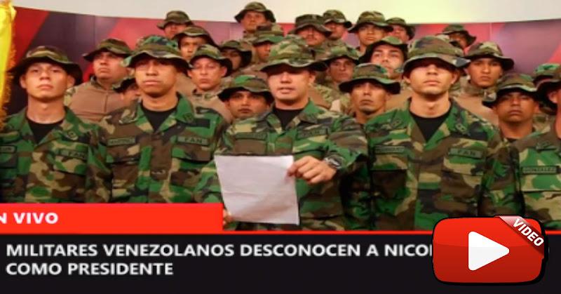 Militares venezolanos que desertaron a Perú lanzan proclama de guerra contra Maduro