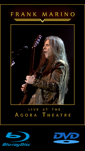 FRANK MARINO LIVE AT THE AGORA THEATRE DVD