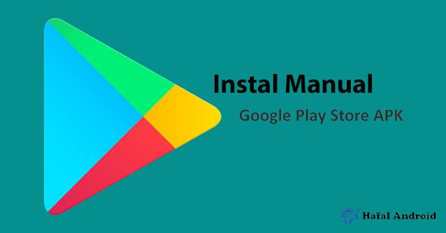 Uninstal dan Instal Apk Google Playstore