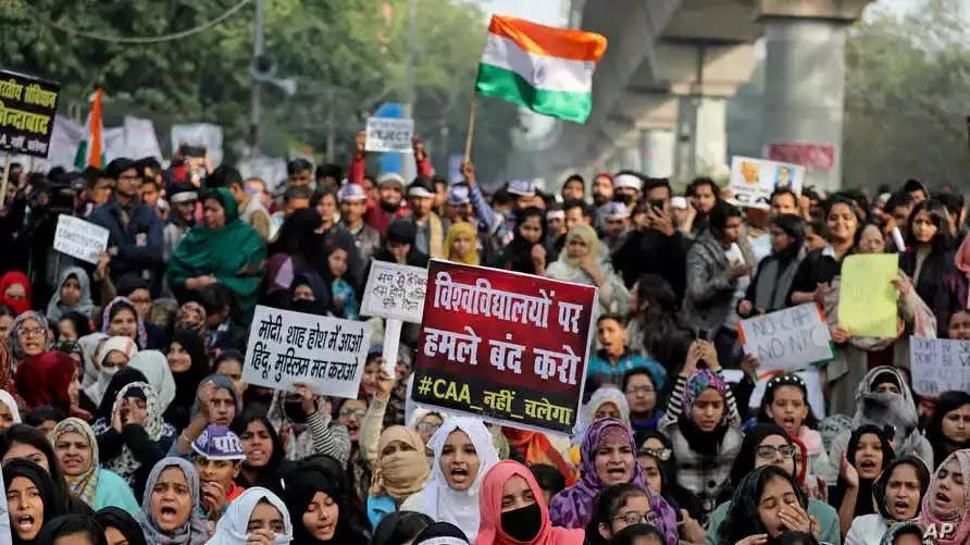 Perempuan India Bergerak Melawan UU Kewarganegaraan
