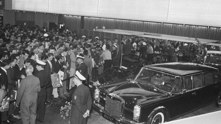 طراز Mercedes 600 موديل 1963