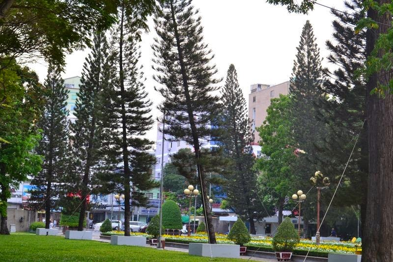 Ho Chi Minh, parc