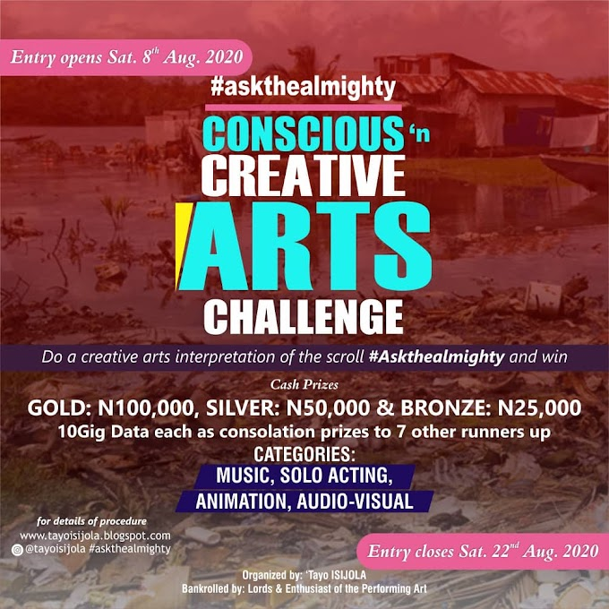 Conscious and Creative Arts Challenge