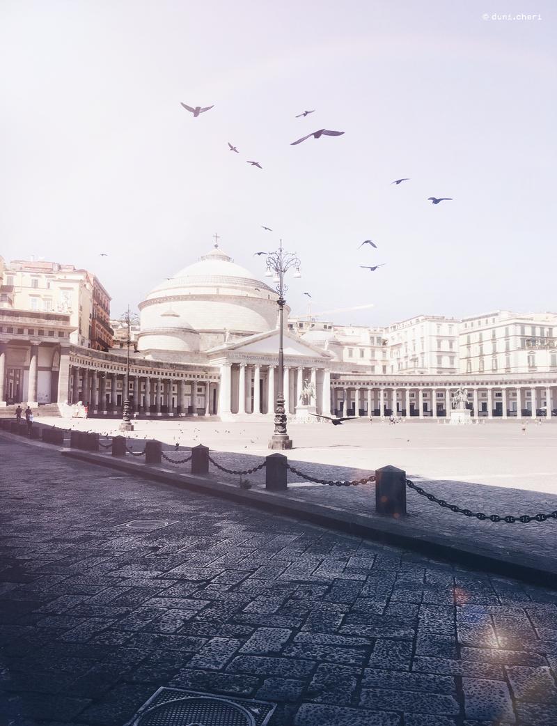 neapel platz plebiscito italien