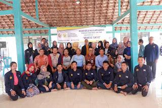 KKN Tematik di Mojokerto, Mahasiswa Unej Beri Edukasi Warga Desa Berbasis Lingkungan