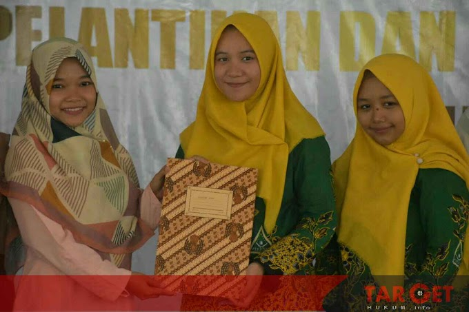 Lantik Pengurus IPNU - IPPNU, Safin Apresiasi Organisasi Pemuda Yang Kritis