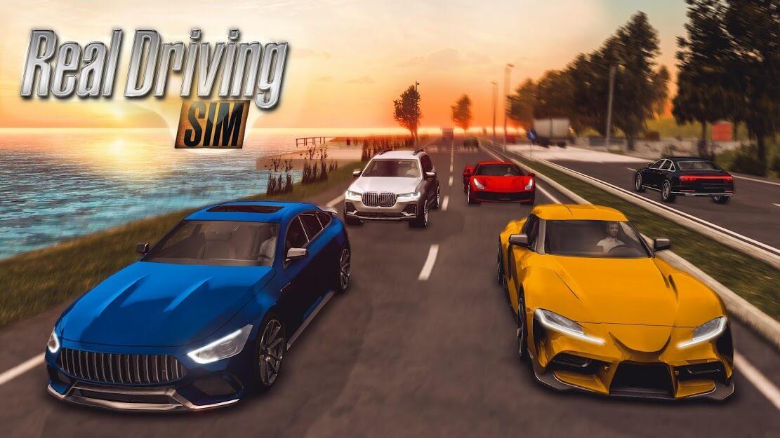 Real Driving Sim v 4.5 apk mod DINHEIRO INFINITO