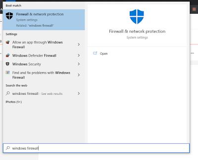 Cara Mematikan Firewall Windows 10 Sementara