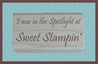 Sweet Stampin Challenge - New Year