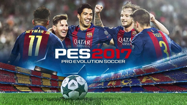 Download Game Android PES2017 Apk data mod pro evolution soccer