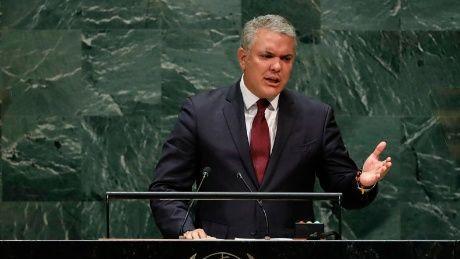 Duque dedica discurso en la ONU a arremeter contra Venezuela