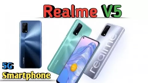Realme V5 5G Smartphone With 5,000mAh Battery And Specifications.