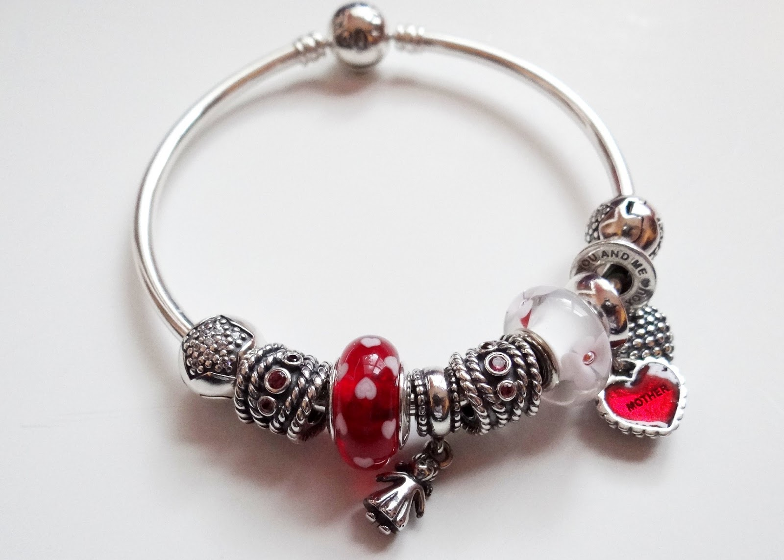 Pandora Mother Daughter Bracelets