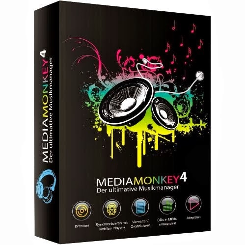 Free Download MediaMonkey GOLD 4.1.1.1693 Final Full Version