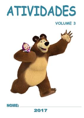 Capa ATIVIDADES DE ALFABETIZAÇÃO Volume 3