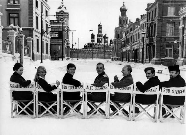 El rodaje en España de Doctor Zhivago