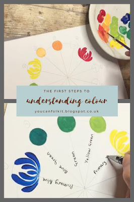 Carol Sykes from You Can Folk It talks colour theory and the Ives Colour wheel