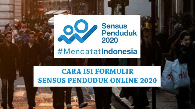 Cara mengisi Sensus Penduduk Online 2020
