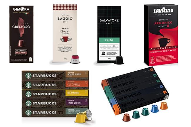 Capsulas compativeis Nespresso