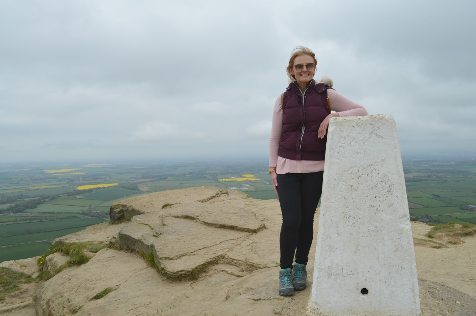 Climbing Roseberry Topping, North Yorkshire