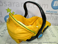 Infant Car Seat CocoLatte CS608 Capella Baby Carrier Yellow