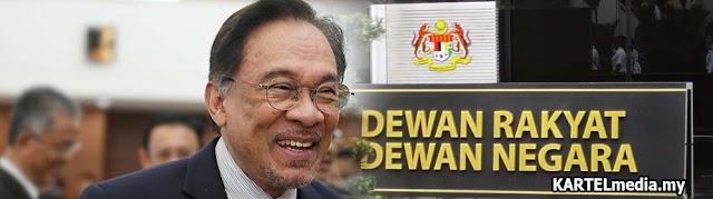 Speaker umum Anwar sebagai Ketua Pembangkang
