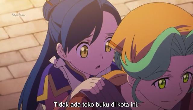 Honzuki no Gekokujou: Shisho ni Naru Tame ni wa Shudan wo Erandeiraremasen Episode 01 Subtitle Indonesia