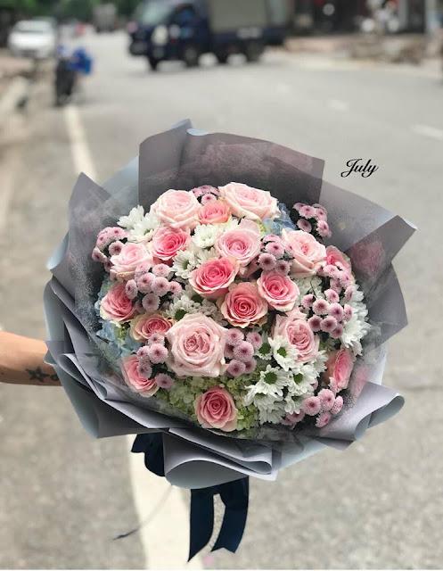 bó hoa hồng đẹp nhất thế giới