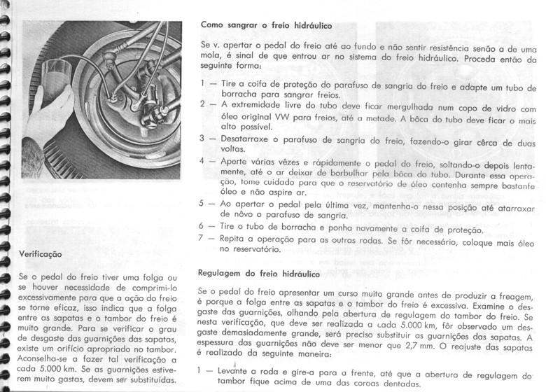 MANUAIS DO PROPRIETÁRIO GRÁTIS: MANUAL DO VW FUSCA 1969