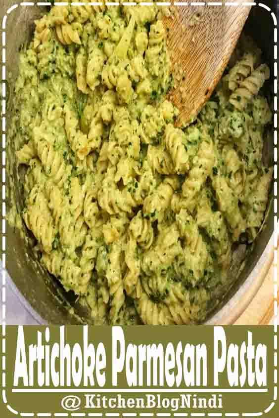 Artichoke Parmesan Pasta