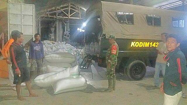 Hanya di Soppeng, Truk Pasukan TNI Digunakan Angkut Gabah, Ini Penyebabnya