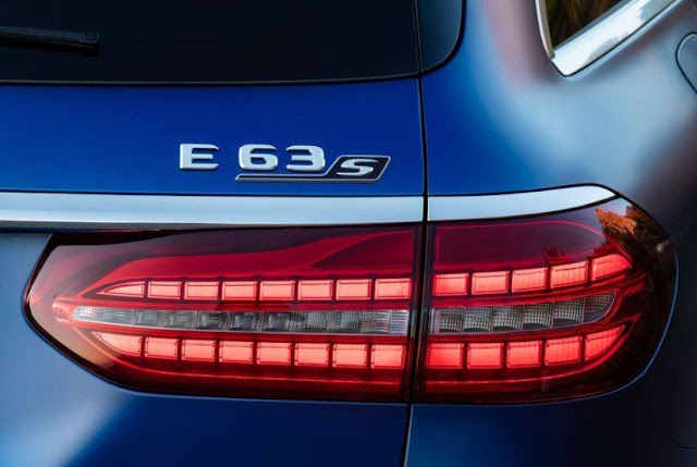 2021 mercedes e63 s wagon taillights and emblem