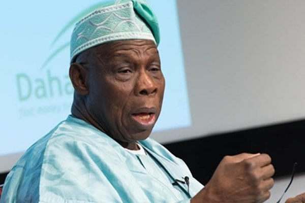Obasanjo Missing As Buhari Met With Past Presidents In The Council Of State's Meeting