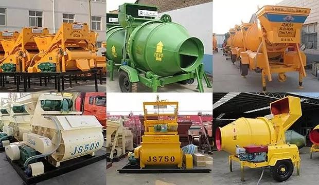 Types of Concrete Mixers