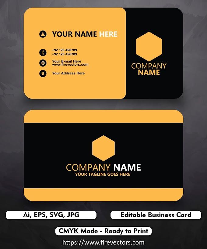 Business card template ai - 09