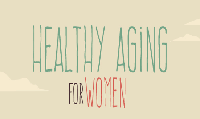 Healthy Aging for Women #infographic