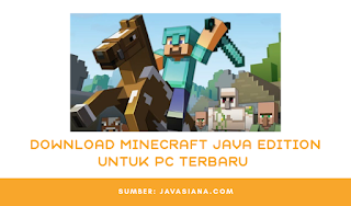 Download Minecraft Java Edition Untuk Pc, Laptop atau Komputer Terbaru