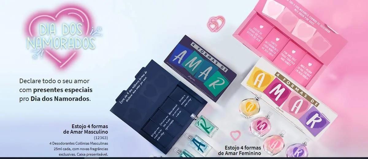 Promoção Jequiti Dia Dos Namorados 2020 Concorra 2 Estojos de Produtos