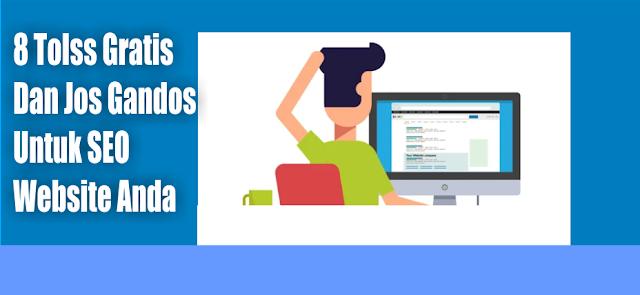 6 Tools SEO gratis dan jos untuk optimasi website dongkrak Trafik Blog