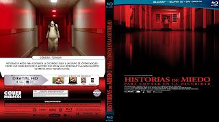 CARATULA - HISTORIAS DE MIEDO PARA CONTAR EN LA OSCURIDAD - SCARY STORIES TO TELL IN THE DARK [BLU-RAY]