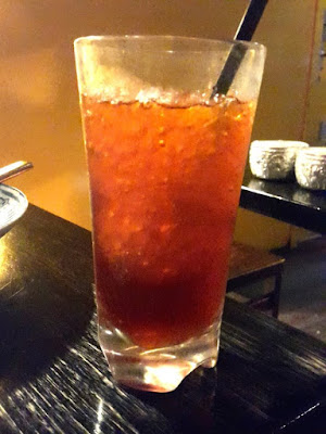 Iced Thai Tea at Chat Thai Sydney Australia