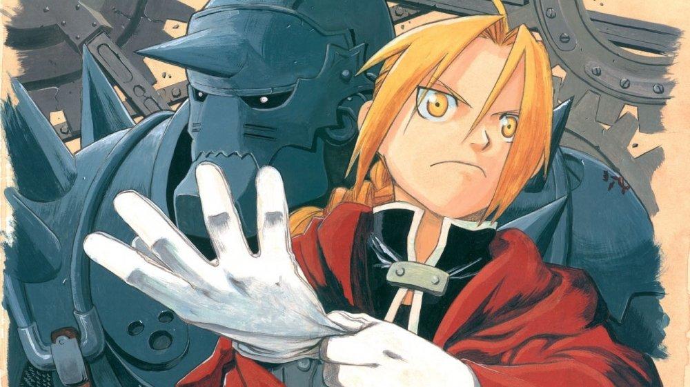 انمي الخيميائي الفولاذي الأخوة Fullmetal Alchemist: Brotherhood