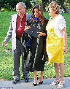 Eva Longoria graduates with master's degree