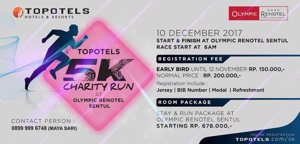 Topotels Charity Run • 2017