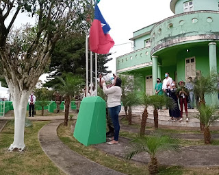 Ato cívico em comemoração aos 85 anos de Itiruçu