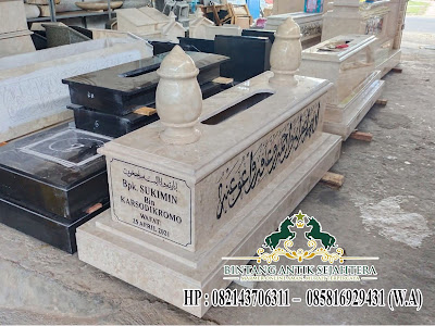 Desain Makam Batu Marmer Islam