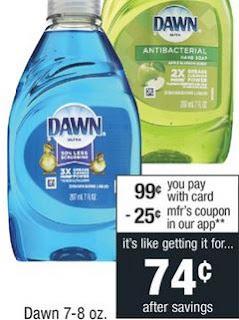 Dawn Liquid Dish Soap