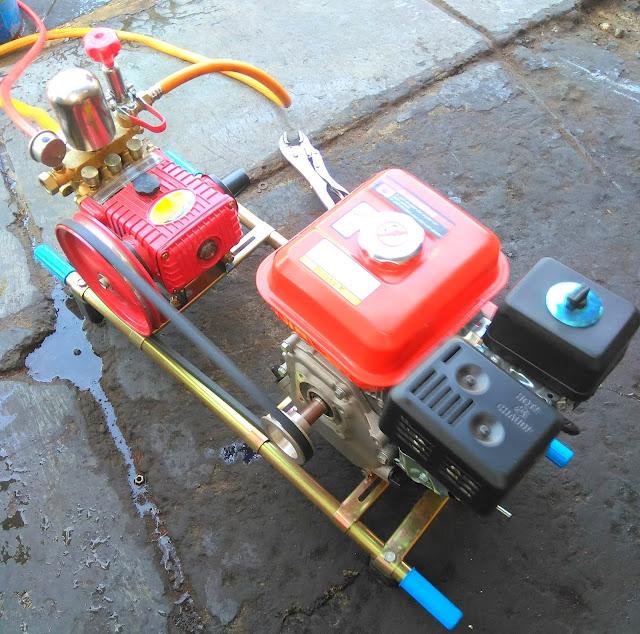 cara menggunakan mesin steam cucian motor